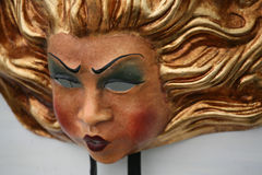 Masque de carnaval : le soleil Photo libre de droits