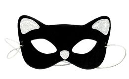 Masque de chat Photos libres de droits