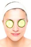 Masque de concombre Images stock