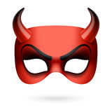 Masque de diable Images libres de droits