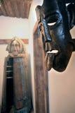 Masque de fer et fille de fer Image stock