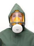 masque de gaz Photographie stock