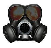 Masque de gaz Photos libres de droits