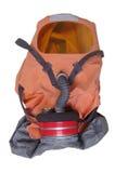Masque de gaz d'isolement sur le fond blanc Photographie stock libre de droits