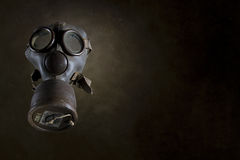 Masque de gaz de cru d'isolement Photos libres de droits