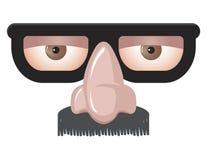 Masque de Groucho Marx Photographie stock