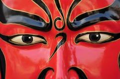 Masque de guerrier Images libres de droits
