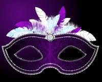 Masque de mascarade Images libres de droits