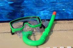 Masque de matériel de plongée Photographie stock