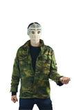 Masque de mise à mort Image stock