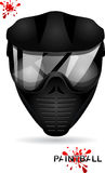Masque de Paintball Images libres de droits