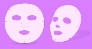 Masque de peau Images libres de droits