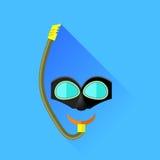 Masque de plongée Images libres de droits