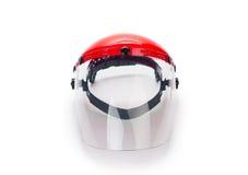 Masque de protection protecteur en plastique Images stock
