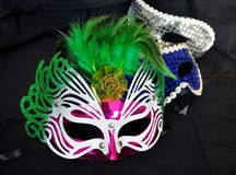 Masque de réception Photos stock