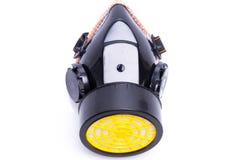 Masque de respirateur avec des cartouches filtrantes Photo stock