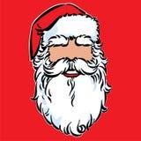 Masque de Santa Claus ' Illustration de Vecteur