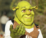 Masque de Shrek photos libres de droits
