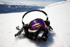 Masque de Snowboard Photo libre de droits