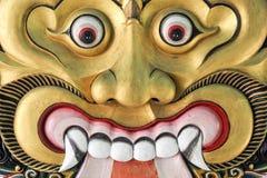 Masque de Thet dans le palais du sultanat de Yogyakarta Image libre de droits