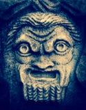 Masque de théâtre de Silenus Photos stock