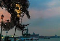 Masque 13 de Venezian Images libres de droits