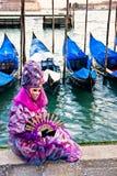 Masque de Venise, carnaval. images libres de droits