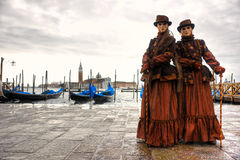Masque de Venise, carnaval. Photo libre de droits