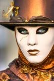Masque de Venise, carnaval. Image stock