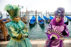 Masque de Venise, carnaval. Image libre de droits
