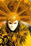 Masque de Venise, carnaval. Photographie stock libre de droits