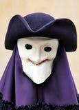 Masque de Venise et costume de carnaval Image stock
