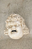 Masque du grec ancien Images stock