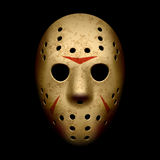 Masque effrayant d'hockey Images stock
