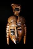 Masque en bois Images libres de droits