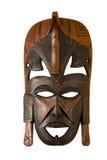 Masque en bois Photographie stock libre de droits