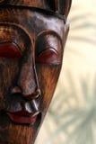 Masque en bois Image libre de droits