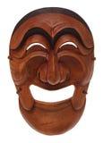 Masque en bois coréen Photo libre de droits