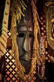 Masque en bois de vaudou photo libre de droits