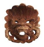 Masque en bois indonésien image stock