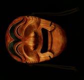 Masque en bois mâle traditionnel coréen Photos stock