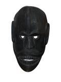 Masque en bois noir Image stock