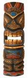 Masque en bois pour la décoration à la maison - masque de vaudou photographie stock