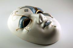 Masque en verre de Mardis Gras Images libres de droits