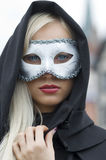 Masque et capuchon Photographie stock