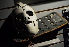 Masque et dresseur de Jim Craig olympique Images stock