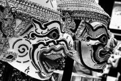 Masque et tête Photographie stock libre de droits