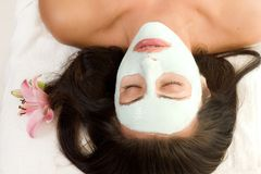 Masque facial Photographie stock