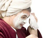 Masque facial Photo stock
