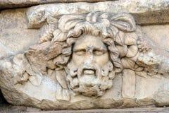 Masque grec de théâtre Photo stock